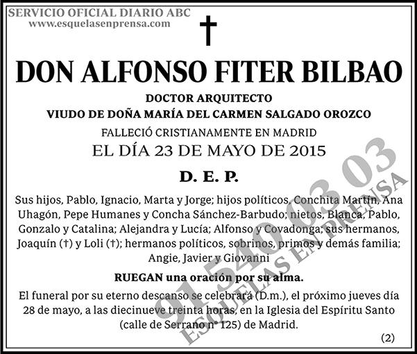 Alfonso Fiter Bilbao